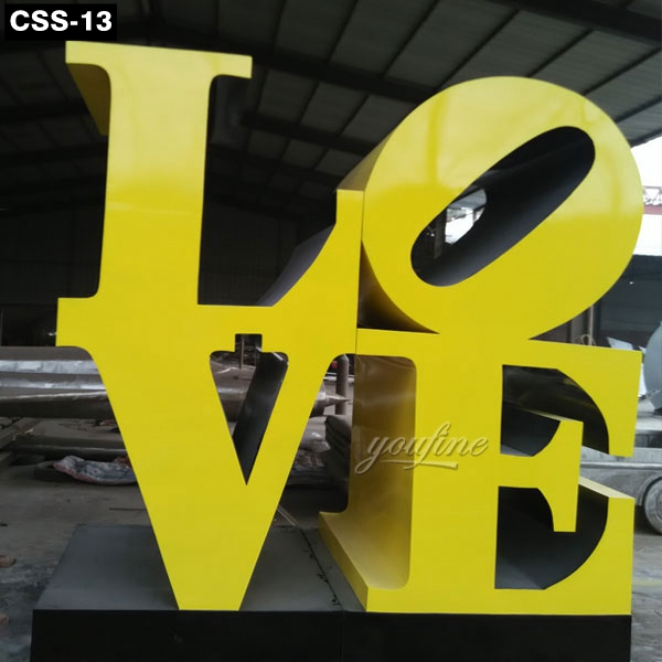 Classic Urban Decoration Love Sculpture New York CSS-13 Featured Image