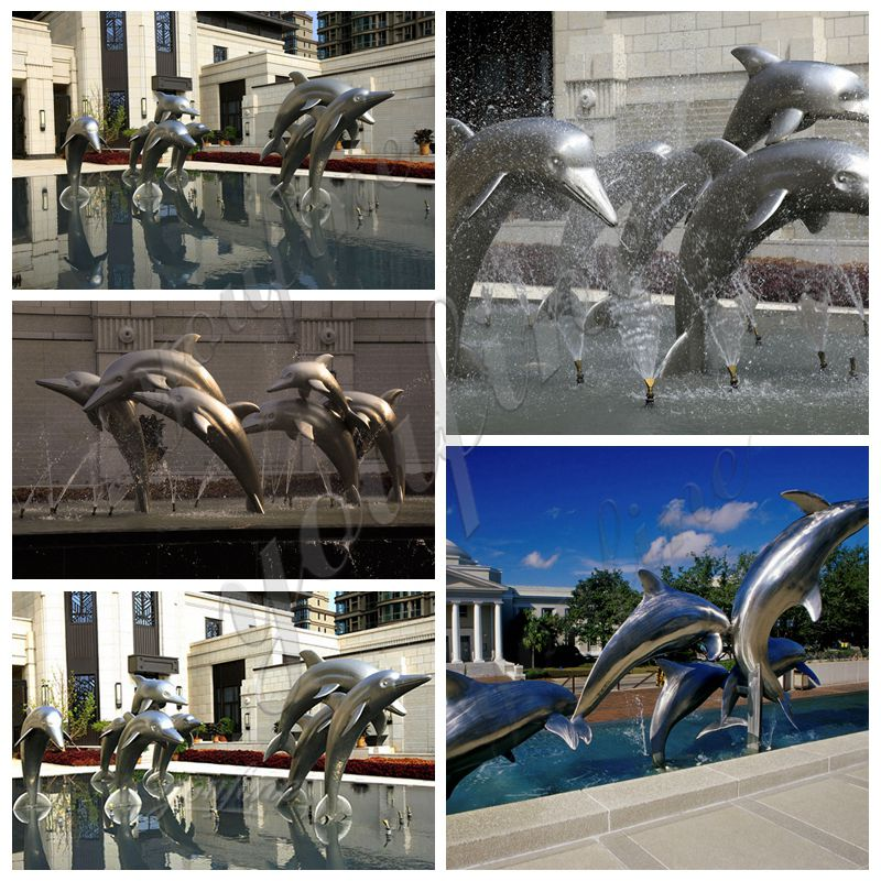 outdoor modern metal sculpture
