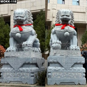 Chinese Lion Statues Outdoor MOKK-118
