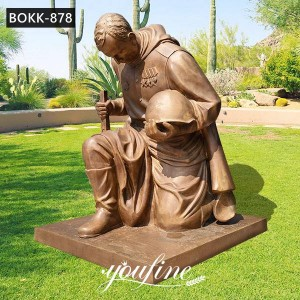 Life Size Military Memorial Bronze Soldier Statue for Sale BOKK-878