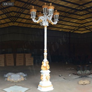 Antique outdoor old fashioned street lamps for sale IOK-143