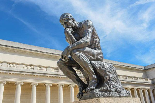 One of The World Famous Top 10 Sculpture-The Thinker