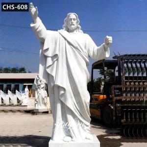 Outdoor Catholic Jesus Christ Marble Statue Garden Decor for Sale CHS-608