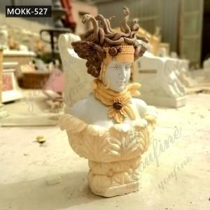 Classic Famous Medusa Marble Bust Sculpture for Sale MOKK-527