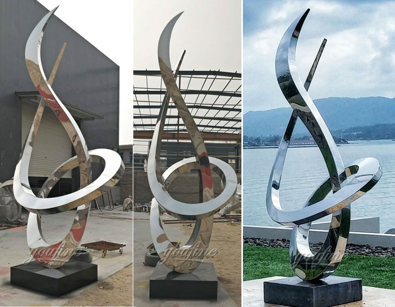 Popular-style-outdoor-garden-decor-mirror-polished-stainless-steel-sculpture-design-for-sale