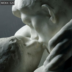 Marble Beautiful famous rodin the kiss sculpture for sale MOKK-520