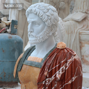 Detailed Carving Roman Busts for Sale MOKK-335