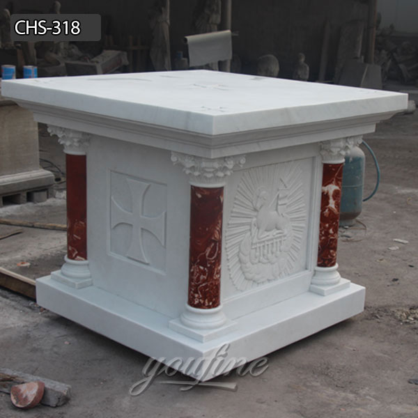 The Karra Marble Church altar marble altar for sale CHS-318 Featured Image