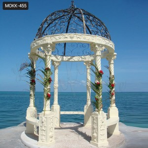 Popular Marble Gazebos Designs with Column MOKK-455