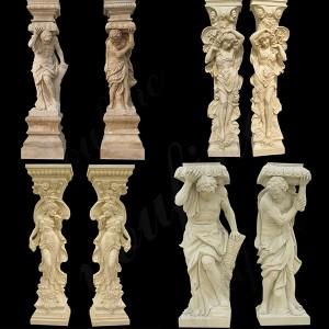 Porch Column Home Depot Marble Antique Figure Column Front Porch Columns with Stone