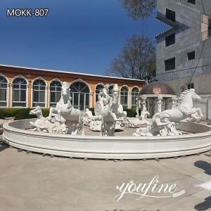 Hotel Square Exquisite Apollo Marble Fountain for sale MOKK-807