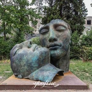 Abstract Bronze Face Sculpture Igor Mitoraj Replica for Sale BOKK-565