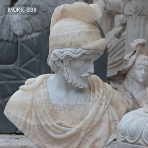 White and Beige Color Marble Busts for Sale MOKK-338
