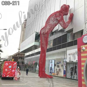 Abstract Modern Metal Figure Sculpture for Shopping Mall for Sale CSS-211
