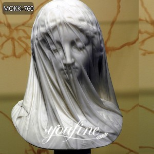 Strazza Veiled Virgin Statue Replica Veiled Lady Marble Sculpture for Sale MOKK-760