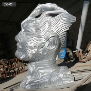 Modern Outdoor Garden Decor Contemporary Outdoor Sculptures for Sale CSS-05