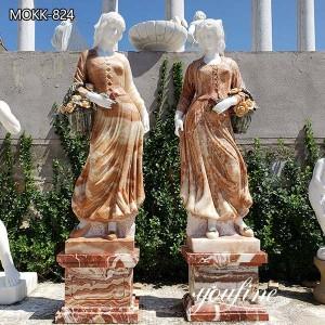 Marble Female Statue Garden Decor from Manufacturer MOKK-824