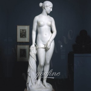The Greek Slave Greek Slave Marble Statue Sculpture for Garden Docor