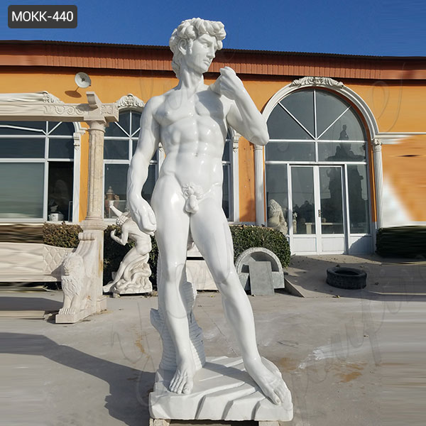 Life size Marble statue of david replica for sale MOKK-440 Featured Image