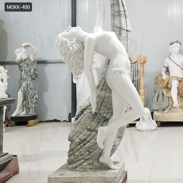 Dancing Girl Marble Statue for Sale MOKK-400 Featured Image