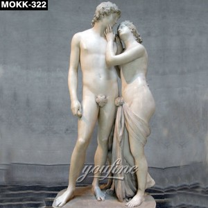 Elegent Lover Decorative Famous Sculpture MOKK-322