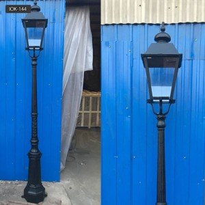 Youfine is the best cast iron lamp post suppliers IOK-144