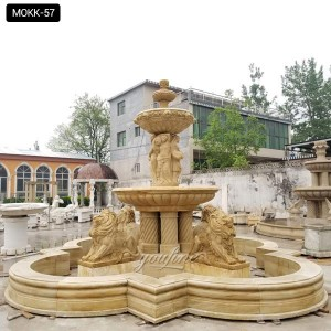 Lion Design Large Outdoor Fountains MOKK-57
