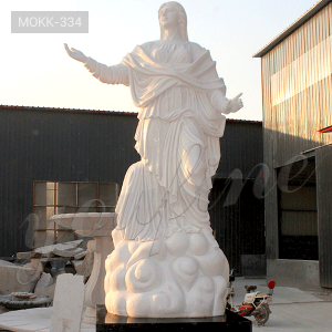 Virgin Mary Marble Statue for Sale MOKK-334