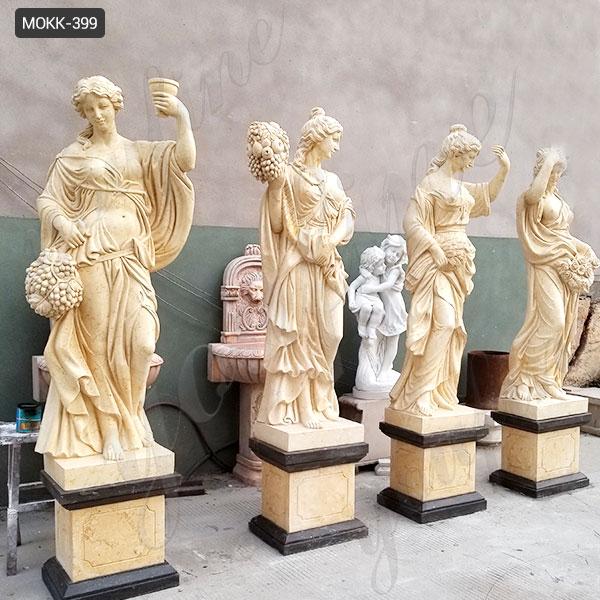 Natural Marble Four Season Maidens Sculpture MOKK-399 Featured Image