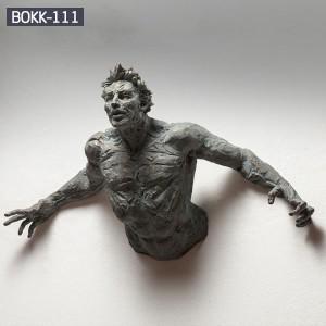 Modern Abstract Wall Decor Matteo Pugliese Sculpture for Sale