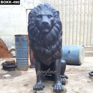 Elegant Lion Statue for Home BOKK-490