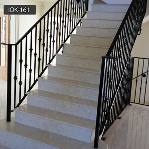 Easily assembled wrought iron balusters for sale IOK-161