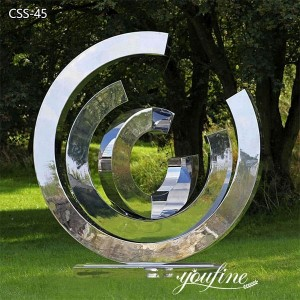 Famous outdoor decor large kinetic wind sculptures for sale CSS-45