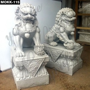 Large Concrete Lion Statues MOKK-115