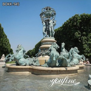 Antique Bronze Fountain Statue for Garden for Sale BOKK-945