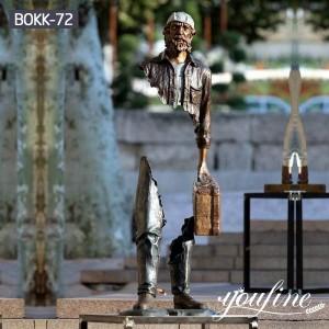 Famous Bronze Traveler Sculpture from Factory Supply BOKK-72