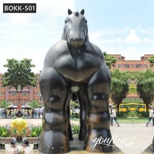 Giant Famous Fernando Botero Horse Sculpture for Sale BOKK-501