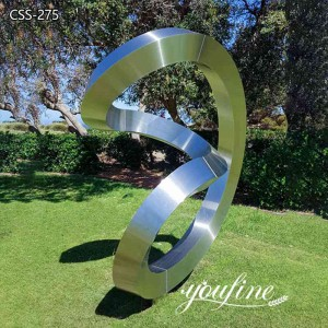 Large Outdoor Metal Ring Sculpture Art Design for Sale CSS-275