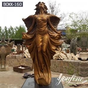 Life Size Bronze Angel Statue Garden Decor Factory Supply BOKK-160