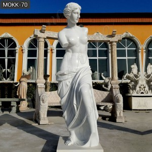 Famous Marble Venus Statue Replica for Sale Venus de Milo Sculpture MOKK-70