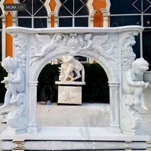 marble fireplace mantel marble fireplace surrounds MOKK-131