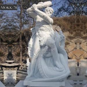 Hercules and Minotaur Statue MOKK-78