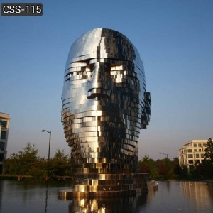 Contemporary Giant Moving Metal Fountain Sculpture from Supplier Online CSS-115
