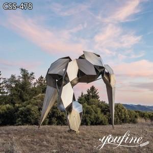 Modern Art Abstract Animal Sculpture Garden Decor for Sale CSS-478