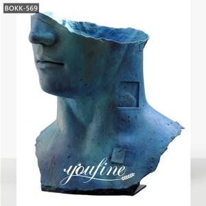 Famous Antique Bronze Hollow Head Sculpture Igor Mitoraj Replica for Sale BOKK-569