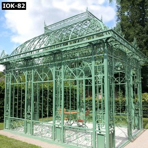 Iron Gazebo Design for Outdoor Decoration IOK-82