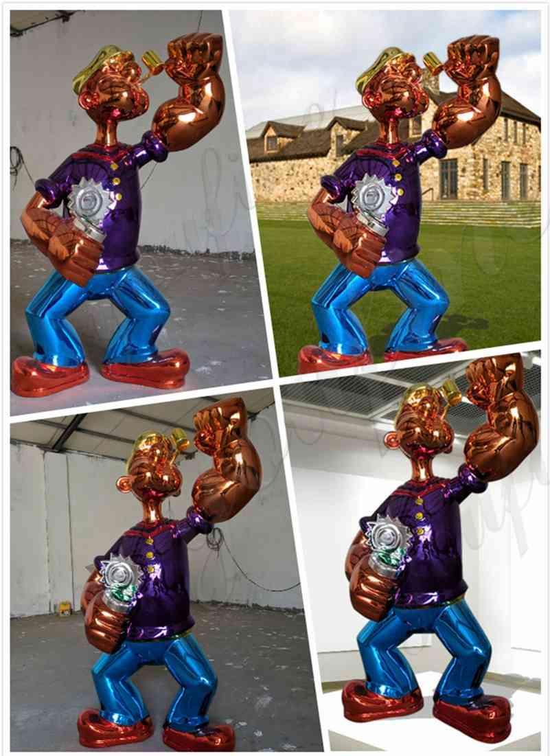 statue of Popeye-1
