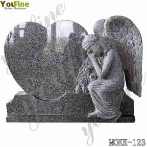 High Quality Granite Angel Memorials with Cheap Price MOKK-123