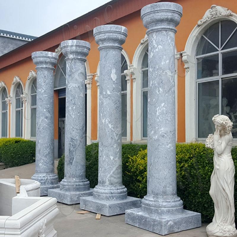 Doric Order Column Large Antique Round Marble Column for Sale MOKK-152_副本