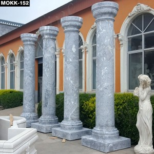 Elegant Grey Pillars for Wedding Ceremony MOKK-152